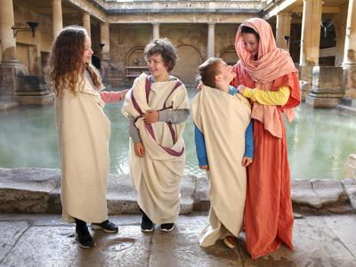Image: Togas and Tunics activity